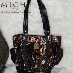 Lisa MICHE Bag Leopard With DEMI BASE